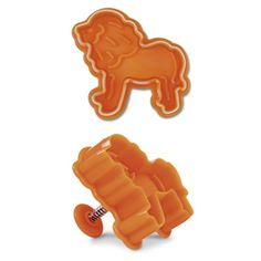 Cookie Stamp & Cutter Zoo Animals Theme, Set of 4