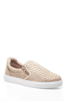J/Slides Zipster Textured Sneaker