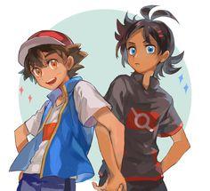 Pokemon Ships, New Pokemon, Stupid Boyfriend, Satoshi Pokemon, Ash Ketchum, Anime, Cute Love, Cool Pictures, Avengers