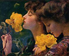 silenceforthesoul: Franz Dvorak - Four Roses, 1903