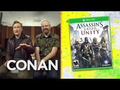 """""""Ubisoft is what my wife said to me on our wedding night."""" - Conan Talk show host and comedian Conan O'Brien recently played and reviewed Ubisoft's newly released historical action-adventure video ..."""