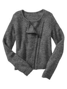 Gap | Sweater moto jacket