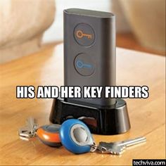 Key Finder - http://99covers.com/blog/simple-ideas-that-are-simply-genius-part-9/