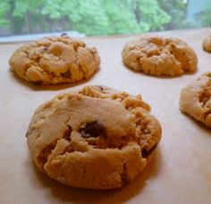 What's Baking in the Barbershop?!: Flourless Peanut Butter Oatmeal Chocolate Chip Cookies