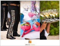 Mexican wedding details Barcelo Maya