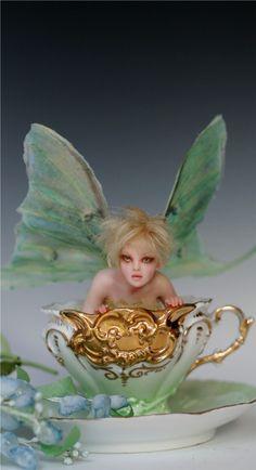 LUNA TINKERBELL - A Teacup Faerie
