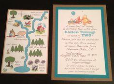 Classic Winnie the Pooh Invitations . . .. $12.99, via Etsy.