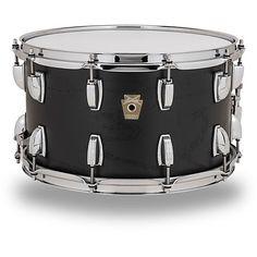 Ludwig Classic Series Hybrid Black Oak Shell Snare Drum 14 x 8 in. Black