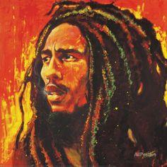 Stephen Fishwick- Bob Marley Minipôster