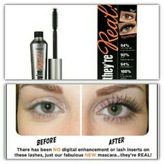 Benefit theyre real mascara Full size new black mascara in box Benefit Makeup Mascara