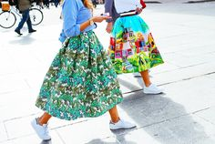 Shop the Street Style Look: Prints With Pizzazz  – Vogue