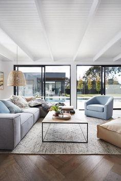 cool 43 Stylish Coastal Living Room Decoration Ideas