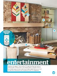 "I saw this in ""Family-Friendly Spaces"" in Lowe's Creative Ideas January 2014."