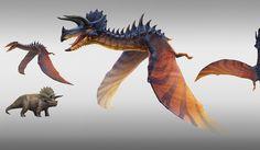 Jurassic World Book, Jurassic World Hybrid, Jurassic World Fallen Kingdom, Be The Creature, Creature Design, Magical Creatures, Fantasy Creatures, Anatomy Sketches, Creature Concept Art