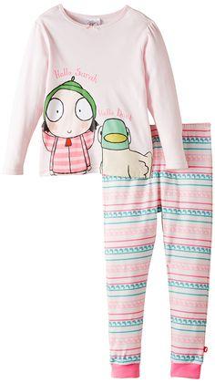 Sarah & Duck Girl's Hello Sarah and Duck Pyjama Set, Pink, Months Outfits Niños, Kids Outfits, Cute Fashion, Kids Fashion, Sarah Duck, Olivia Grace, Little Girl Birthday, Hello Sarah, Girls Pajamas