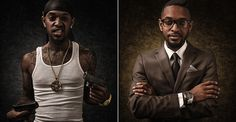 Animated Portrait GIFs Switch Between Stereotypes That Belittle People And Reality