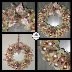 Beautiful home decor wreath for the holidays #wreath #holidaywreath #homedecorideas #christmasdecorating Holiday Wreaths, Christmas Decorations, Accessories Shop, Fashion Accessories, Fashion Rings, Fashion Jewelry, Ornament Wreath, Home Decor Items, Ring Earrings