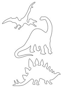 Alamosaur And Friends Stencils Printable Crafts