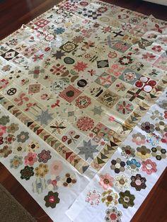 Progress on my stonefields quilt