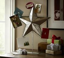 Display the Season's Greetings in Style: Star Card Holder