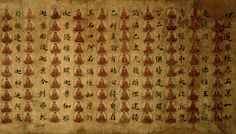 Lotus Sutra decorated with Buddhas