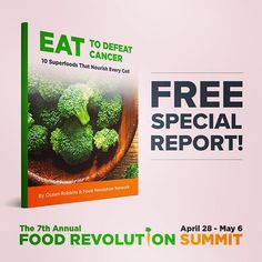 Diet causes 2 million cancer-related deaths worldwide every year. Avoid becoming another cancer statistic. Discover 10 ways you can eat to defeat in this free special report. Healthy Diet Recipes, Healthy Eating, Diet Plateau, Top 10 Superfoods, Hormone Balancing, Endometriosis, Pcos, Natural Medicine, Diet Recipes
