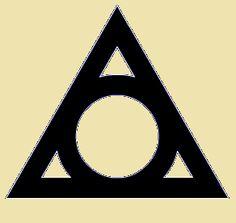 triangle & circle = trinity & infinity