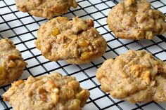 Vegan Hermit Cookies from Little Swiss Baker. Hermit cookies are delicious lightly spiced cookies packed with walnuts, raisins and dates.