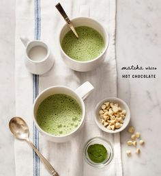 Matcha White Hot Cho