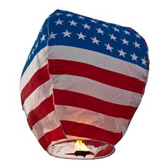 American Flag Eco Wish Lantern (5 Pack) $14.99 #birando #wishlantern #USA