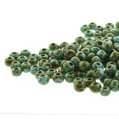 Bohemian Aged stripe seed beads, reminiscent of the Hippie movement and Old World Folklore! Hippie Movement, Travertine, Old World, Seed Beads, It Is Finished, Turquoise, Dark, Shop, Blue