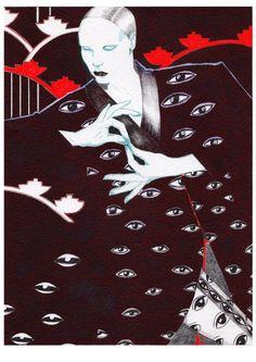 ARTAKSINIYA Graphic Design Illustration, Illustration Art, Tamara Lempicka, Funky Art, Fashion Design Drawings, Psychedelic Art, Illustrations And Posters, Art Sketches, Art Reference