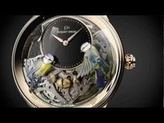 Jaquet Droz The Bird Minute Repeater Watch - YouTube