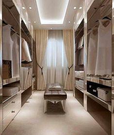Walk in closet ideas / luxury closets / wardrobe goals #closet #closetgoals #wardrobe #dreamcloset #interiordecor #interiorgoals / www.fromluxewithlove.com/20-dreamy-walk-closet-ideas/