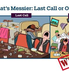 What's messier: Last call or our hotel room? Last Call, My Life, Family Guy, Comic Books, Guys, Comics, Becca, Room, Fictional Characters