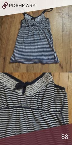 Stripped flow tank top It is soft and in good condition. Abercrombie & Fitch Tops Tank Tops