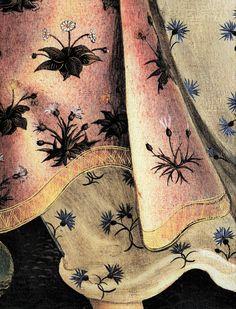 Sandro Botticelli Paintings, Abstract Painting Techniques, Cult, Pressed Flower Art, Motif Floral, Italian Artist, Detail Art, Renaissance Art, Beautiful Paintings