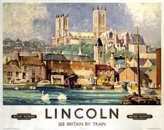 'Lincoln', BR poster, 1948-1965. by Hick, Allanson at Science and Society Picture Library