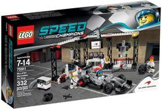 Lego Speed Champions McLaren Mercedes Pit-stop 75911