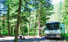Get a Federal Recreational Lands Pass. Articles for baby boomers. Read at http://boomerinas.com/2013/01/how-to-save-money-on-rv-camping-fees/