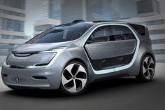 Chrysler vient de lever le voile sur Portal, son concept-car 100 % électrique avec conduite semi-autonome ! #ces2017
