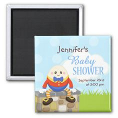 Humpty Dumpty Baby Shower Save the Date Refrigerator Magnets