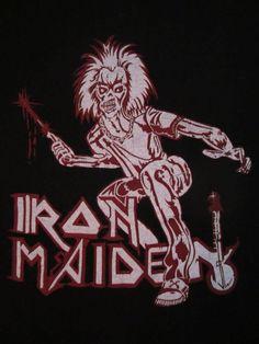 early 80s IRON MAIDEN TSHIRT