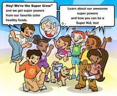 SuperKids Nutrition Super Crew for Kids   Health - skip the unhealthy life? change to healthy life   Scoop.it