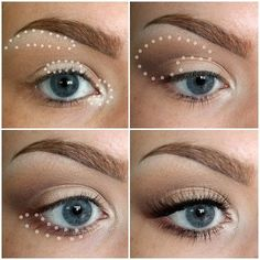 Maquillage Yeux HOW TO: EYESHADOW BASICS