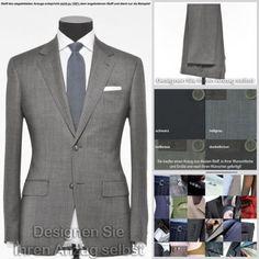 Vitale Barberis Anzug (nach Ihren Wünschen gefertigt) alle Größen, mit Mohair | eBay  zu finden in unserem eBay-Shop unter http://stores.ebay.de/jkkonfektion  In unserem Shop bieten wir Ihnen die größte Auswahl an Anzügen und Sakkos die Sie in Ebay finden werden. Sie haben die Möglichkeit den Stoff, den Schnitt, die Form, alle Ausstattungsdetails für Ihren Anzug oder Ihr Sakko selbst zu wählen. In jeder Größe! Ganz individuell - einfach einzigartig!