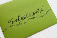 A blog about calligraphy and handmade gorgeousness.