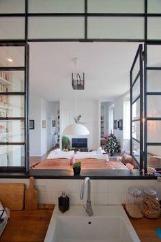 Kitchen: Cucina in stile in stile Industriale di Anomia Studio