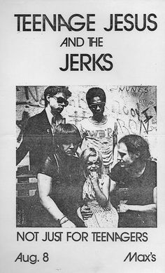 teenage jesus and the jerks.