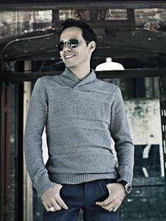 I love this cozy sweater for guys!! The neck construction is interesting and I'm find of the texture! (Marc Anthony for Kohl's)